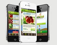 Iaiaoh! iphone app design