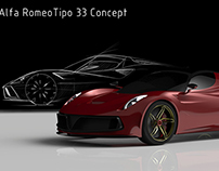 Alfa Romeo Stradale Retro Concept