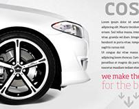 Chromodora Wheels - Parallax Website design