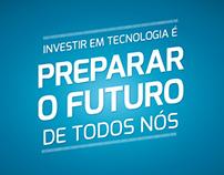 Investir em tecnologia é preparar o futuro