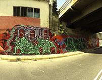 Graffiti gore santan-der
