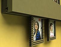 corrugated paper's Frame