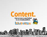 Lollapalooza/ PLATAFORMA DE CONTEÚDO