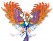 Phoenix in Adobe illustrator