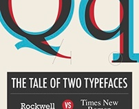Typeface Comparison Book