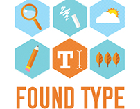 ICON DESIGN: Found Type