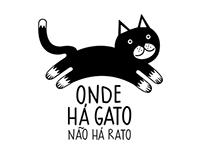 Onde Há Gato - Logo ID