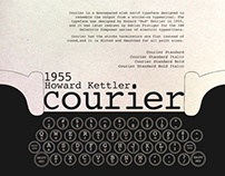 Typographic Poster_Courier