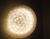Creative Lamp with Disposable Glasses