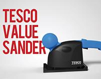 Tesco Value Sander Redesign
