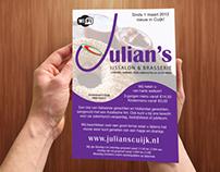 Julian's icecream and bistro