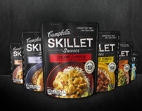 Campbell's US – Skillet Sauces Microsite