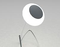 """Desk lamp """"Flower"""""""