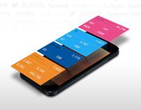 web stats app