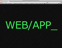 Web/App layout