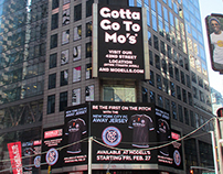Modell's Times Square Digital Boards