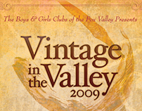 Vintage In The Valley Poster