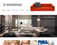 Inspirdesign | Funiture-Interior Web Design