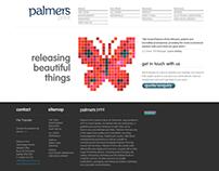 Palmers website design & branding