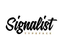 Signalist typeface