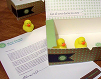 Self Promo -- Get all your ducks in a row