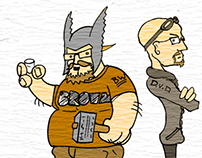 Backwashed Conversations - Comic Strip