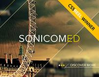 SonicomED - Web Design | Unusual Geometry