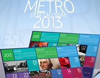Metro Desktop Calendar