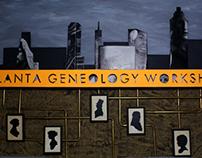 Graphic Design   Atlanta Genealogy Workshop.