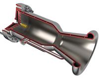 Design of a liquid rocket engine for sounding rocket