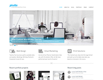 Web Design Studio: WordPress Theme