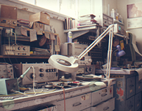 Classroom - CG Scene
