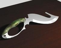 Knife of a predator