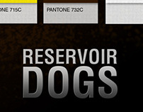 Reservoir Dog / Pantone Movie Poster