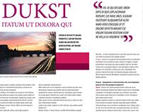 Layout Revista Duskt