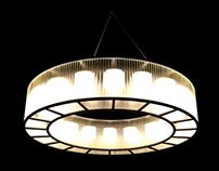 STADIO lamp by Miguel Milá.