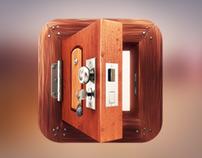 App Icon Design - Wooden Door