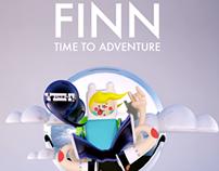 """ADVENTURE TIME! FINN """"Fan Art"""""""
