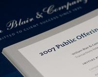 William Blair & Company Annual Reviews
