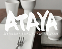 Ataya - Branding and Tableware