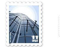 Art Deco Stamp