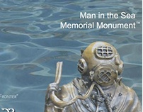 Civic Site Design - Man in the Sea Memorial Monument