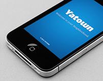 Yatown App UI Design