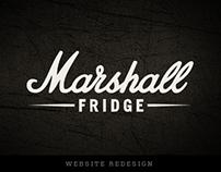 Marshall Fridge – Website
