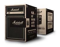 Marshall Fridge – Package Design