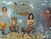 Led Zeppelin - In Days Of Old When Magic Filled The Air