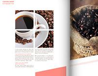Coffee Shop Etiquette: editorial spread