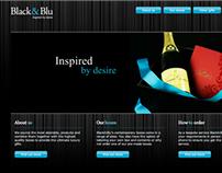 Black & Blu Website
