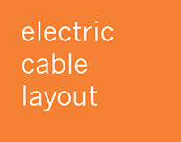 electric cable layout
