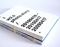 web2.0 // Twitter Diary Book